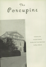 Reedley High School - Porcupine Yearbook (Reedley, CA) online yearbook collection, 1945 Edition, Page 6 of 92