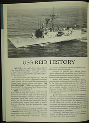 Reid (FFG 30) - Naval Cruise Book online yearbook collection, 1989 Edition, Page 6