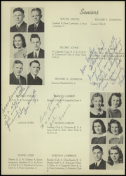 Rhinelander High School - Hodag Yearbook (Rhinelander, WI) online yearbook collection, 1941 Edition, Page 10 of 60