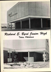 Richard Byrd Junior High School - Explorer Yearbook (Tulsa, OK) online yearbook collection, 1970 Edition, Page 6