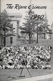 Ripon College - Crimson Yearbook (Ripon, WI) online yearbook collection, 1950 Edition, Page 7