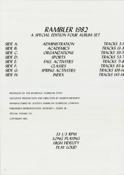 Riverdale High School - Rambler Yearbook (Port Byron, IL) online yearbook collection, 1982 Edition, Page 6 of 158