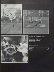 Rock Island High School - Watchtower Yearbook (Rock Island, IL) online yearbook collection, 1972 Edition, Page 5