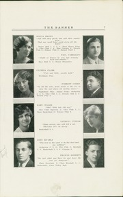 Rockville High School - Banner Yearbook (Rockville, CT) online yearbook collection, 1930 Edition, Page 9 of 58