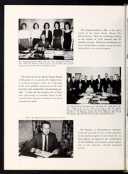 Rocky Mount High School - Hi Noc Ar Yearbook (Rocky Mount, NC) online yearbook collection, 1964 Edition, Page 18