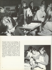 Roger Ludlowe High School - Fairfieldiana Yearbook (Fairfield, CT) online yearbook collection, 1970 Edition, Page 8