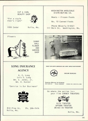 Rolla High School - Growler Yearbook (Rolla, MO) online yearbook collection, 1966 Edition, Page 197
