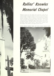 Rollins College - Tomokan Yearbook (Winter Park, FL) online yearbook collection, 1954 Edition, Page 13