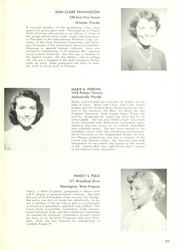 Rollins College - Tomokan Yearbook (Winter Park, FL) online yearbook collection, 1954 Edition, Page 277
