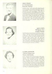 Rollins College - Tomokan Yearbook (Winter Park, FL) online yearbook collection, 1954 Edition, Page 278 of 320