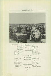 Rome Free Academy - De O Wain Sta Yearbook (Rome, NY) online yearbook collection, 1927 Edition, Page 8