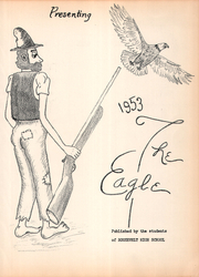 Roosevelt High School - Eagle Yearbook (Lubbock, TX) online yearbook collection, 1953 Edition, Page 7