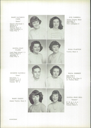 Roseville High School - Rosette Yearbook (Roseville, OH) online yearbook collection, 1950 Edition, Page 18