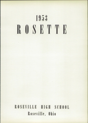 Roseville High School - Rosette Yearbook (Roseville, OH) online yearbook collection, 1953 Edition, Page 5