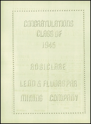Rosiclare High School - Fluoroscope Yearbook (Rosiclare, IL) online yearbook collection, 1945 Edition, Page 150