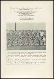 Rotan High School - Yellowhammer Yearbook (Rotan, TX) online yearbook collection, 1949 Edition, Page 15