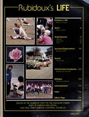 Rubidoux High School - Eyry Yearbook (Riverside, CA) online yearbook collection, 1982 Edition, Page 5