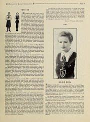 Ruperts Land Girls School - Eagle Yearbook (Winnipeg, Manitoba Canada) online yearbook collection, 1936 Edition, Page 11