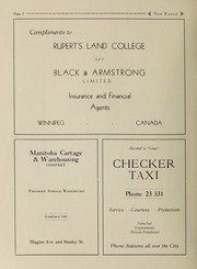 Ruperts Land Girls School - Eagle Yearbook (Winnipeg, Manitoba Canada) online yearbook collection, 1936 Edition, Page 4