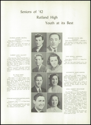 Rutland High School - Talisman Yearbook (Rutland, VT) online yearbook collection, 1942 Edition, Page 13 of 106