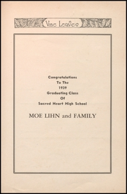 Sacred Heart High School - Vine Leaves Yearbook (Vineland, NJ) online yearbook collection, 1939 Edition, Page 73 of 138