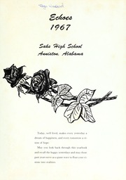 Saks High School - Saks Echoes Yearbook (Anniston, AL) online yearbook collection, 1967 Edition, Page 5 of 192