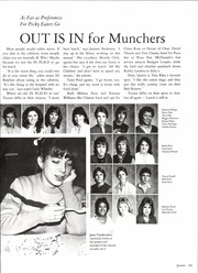 Sam Houston High School - Cherokee Yearbook (Arlington, TX) online yearbook collection, 1985 Edition, Page 207 of 280
