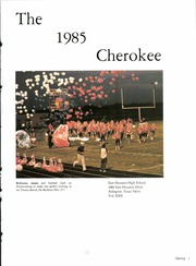 Sam Houston High School - Cherokee Yearbook (Arlington, TX) online yearbook collection, 1985 Edition, Page 5
