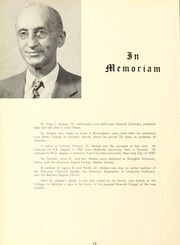 Samford University - Entre Nous Yearbook (Birmingham, AL) online yearbook collection, 1956 Edition, Page 16