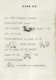 San Jacinto High School - Yameewo Yearbook (San Jacinto, CA) online yearbook collection, 1950 Edition, Page 7