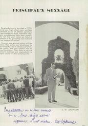 San Jacinto High School - Yameewo Yearbook (San Jacinto, CA) online yearbook collection, 1950 Edition, Page 9