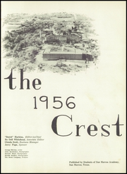 San Marcos Baptist Academy - Crest Yearbook (San Marcos, TX) online yearbook collection, 1956 Edition, Page 5 of 192