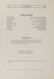 Sauquoit Valley Central High School - Saghdaquadah Yearbook (Sauquoit, NY) online yearbook collection, 1935 Edition, Page 4