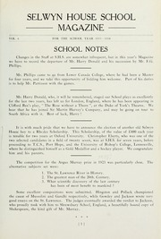 Selwyn House School - Yearbook (Montreal, Quebec Canada) online yearbook collection, 1934 Edition, Page 3