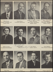 Seminole High School - Chieftain Yearbook (Seminole, OK) online yearbook collection, 1952 Edition, Page 12