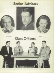 Seneca Vocational School - Chieftain Yearbook (Buffalo, NY) online yearbook collection, 1954 Edition, Page 17 of 124