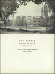 Sexton High School - Oracle Yearbook (Lansing, MI) online yearbook collection, 1949 Edition, Page 7