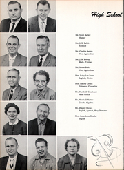 Seymour High School - Panther Yearbook (Seymour, TX) online yearbook collection, 1958 Edition, Page 12