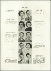 Sharpsville High School - Devils Log Yearbook (Sharpsville, PA) online yearbook collection, 1954 Edition, Page 14
