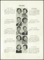 Sharpsville High School - Devils Log Yearbook (Sharpsville, PA) online yearbook collection, 1954 Edition, Page 15 of 120