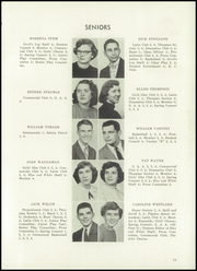 Sharpsville High School - Devils Log Yearbook (Sharpsville, PA) online yearbook collection, 1954 Edition, Page 17