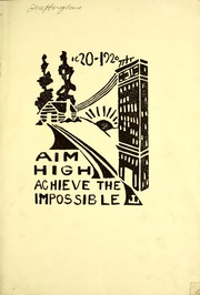 Shortridge High School - Annual Yearbook (Indianapolis, IN) online yearbook collection, 1920 Edition, Page 7