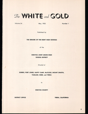 Siskiyou Union High School - White and Gold Yearbook (Weed, CA) online yearbook collection, 1953 Edition, Page 9
