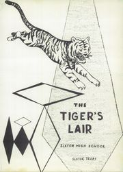 Slaton High School - Tigers Lair Yearbook (Slaton, TX) online yearbook collection, 1960 Edition, Page 7