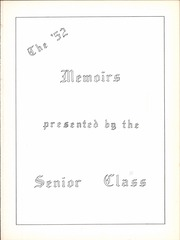 South Charleston High School - Memoirs Yearbook (South Charleston, WV) online yearbook collection, 1952 Edition, Page 7
