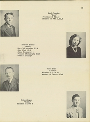 South Dayton High School - Pioneer Yearbook (South Dayton, NY) online yearbook collection, 1947 Edition, Page 15