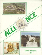 South Fayette High School - Alliance Yearbook (McDonald, PA) online yearbook collection, 1986 Edition, Page 1