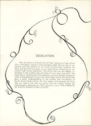 South Girard High School - Bulldog Yearbook (Phenix City, AL) online yearbook collection, 1957 Edition, Page 5 of 56
