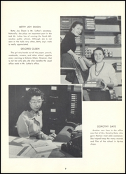 South Milwaukee High School - Bay Mist Yearbook (South Milwaukee, WI) online yearbook collection, 1956 Edition, Page 15