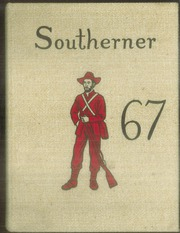 South Rowan High School - Southerner Yearbook (China Grove, NC) online yearbook collection, 1967 Edition, Cover